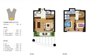 Advantageous Apartments Near All Amenities in Istanbul, Property Plans-9