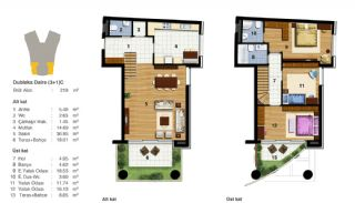 Advantageous Apartments Near All Amenities in Istanbul, Property Plans-12