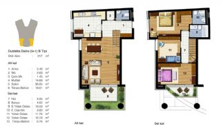 Advantageous Apartments Near All Amenities in Istanbul, Property Plans-13