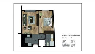 Advantageous Apartments Near All Amenities in Istanbul, Property Plans-15