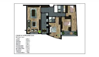Advantageous Apartments Near All Amenities in Istanbul, Property Plans-21