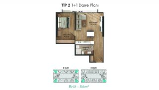 Profitable Flats in the Desirable Location of Istanbul, Property Plans-2