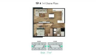 Profitable Flats in the Desirable Location of Istanbul, Property Plans-4
