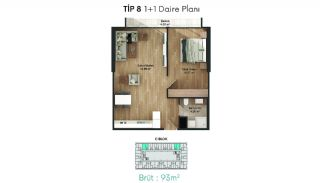 Profitable Flats in the Desirable Location of Istanbul, Property Plans-6