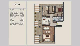 Appartements Uniques Istanbul sur l'Autoroute E-5, Projet Immobiliers-15