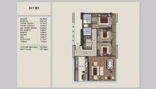 Appartements Uniques Istanbul sur l'Autoroute E-5, Projet Immobiliers-17