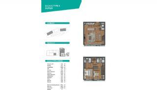 Роскошные Квартиры с Великолепным Видом в Стамбуле, Планировка -5