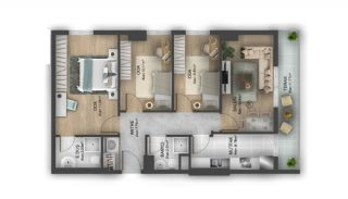 First Class Flats with 7-Star Hotel Concept in Istanbul, Property Plans-8