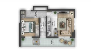 First Class Flats with 7-Star Hotel Concept in Istanbul, Property Plans-12