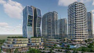 Recently Built Apartments 300 m to TEM Highway in Istanbul, Istanbul / Gaziosmanpasa