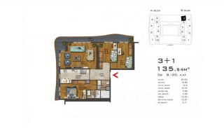 Recently Built Apartments 300 m to TEM Highway in Istanbul, Property Plans-4