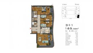 Recently Built Apartments 300 m to TEM Highway in Istanbul, Property Plans-5