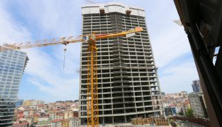 Centrally Located Prestigious Apartments in Istanbul Sisli, Construction Photos-1