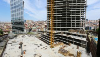 Centrally Located Prestigious Apartments in Istanbul Sisli, Construction Photos-2