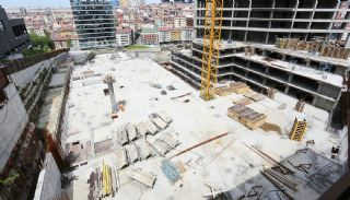 Centrally Located Prestigious Apartments in Istanbul Sisli, Construction Photos-3