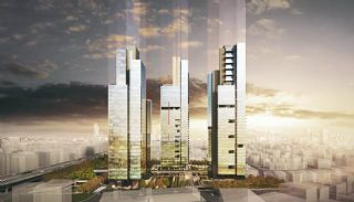 Bosphorus View Ready Flats in the Center of Istanbul Sisli, Istanbul / Sisli - video