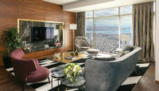 Bosphorus View Ready Flats in the Center of Istanbul Sisli, Interior Photos-2