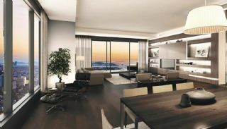 Bosphorus View Ready Flats in the Center of Istanbul Sisli, Interior Photos-3
