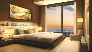 Bosphorus View Ready Flats in the Center of Istanbul Sisli, Interior Photos-4