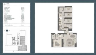 Bosphorus View Ready Flats in the Center of Istanbul Sisli, Property Plans-8