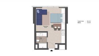 Appartements Classe Dans Le Centre de Financier d'Istanbul, Projet Immobiliers-2
