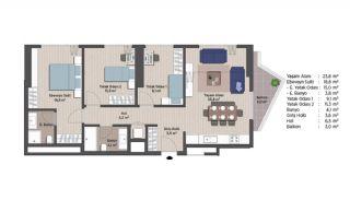 Appartements Classe Dans Le Centre de Financier d'Istanbul, Projet Immobiliers-6