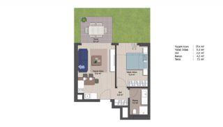 Appartements Classe Dans Le Centre de Financier d'Istanbul, Projet Immobiliers-7