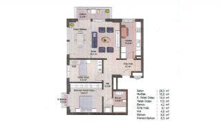 Appartements Classe Dans Le Centre de Financier d'Istanbul, Projet Immobiliers-8
