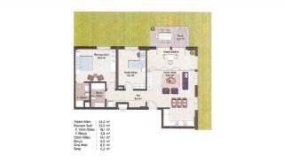 Appartements Classe Dans Le Centre de Financier d'Istanbul, Projet Immobiliers-9