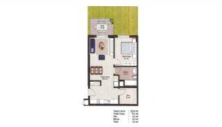Первоклассные Квартиры в Финансовом Центре Стамбула, Планировка -15