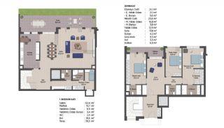 Первоклассные Квартиры в Финансовом Центре Стамбула, Планировка -18