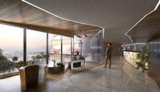 عقارات اسطنبول الراقية مع مفهوم المكاتب المنزلية, تصاوير المبنى من الداخل-1