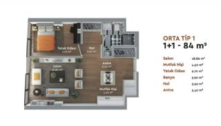 Prestigious Istanbul Real Estate with Home-Office Concept, Property Plans-1