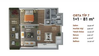 Prestigious Istanbul Real Estate with Home-Office Concept, Property Plans-4