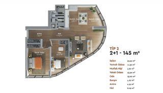 Prestigieux Immobilier Istanbul Concept Bureau à Domicile, Projet Immobiliers-5