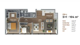 Prestigious Istanbul Real Estate with Home-Office Concept, Property Plans-6