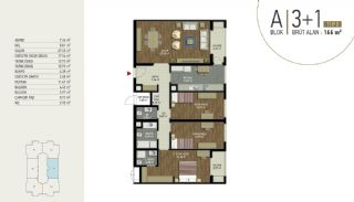 Well-Located Turnkey Apartments in Istanbul Eyup, Property Plans-2