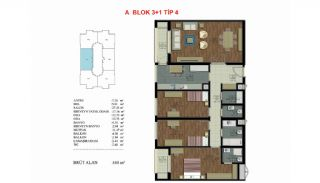Well-Located Turnkey Apartments in Istanbul Eyup, Property Plans-3