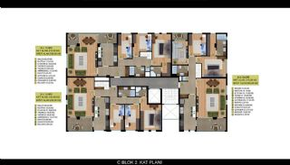 Horizontal Architecture Istanbul Property 5 Min. to the Sea, Property Plans-4