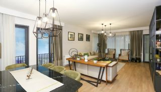 Istanbul Flats Close to E-5 Highway and Coastal Road, Interior Photos-1