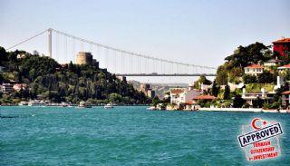 قصور تاريخية (1890) بإطلالة بحرية على البوسفور في إسطنبول, اسطنبول / ساراير