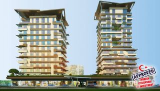 Advantageous Apartments in the Rising Star of Istanbul, Istanbul / Kagithane