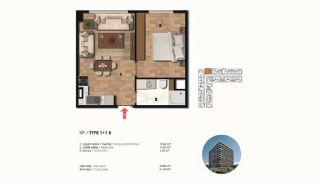 Historical Designed Apartments in Istanbul Zeytinburnu, Property Plans-1