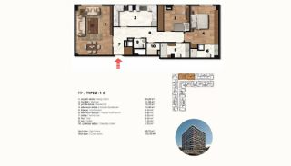 Historical Designed Apartments in Istanbul Zeytinburnu, Property Plans-3