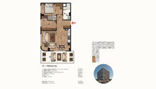 Historical Designed Apartments in Istanbul Zeytinburnu, Property Plans-4