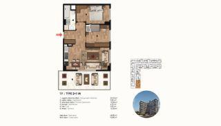 Historical Designed Apartments in Istanbul Zeytinburnu, Property Plans-5