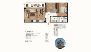 Historical Designed Apartments in Istanbul Zeytinburnu, Property Plans-6