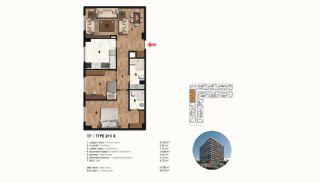 Historical Designed Apartments in Istanbul Zeytinburnu, Property Plans-7