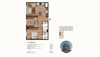 Historical Designed Apartments in Istanbul Zeytinburnu, Property Plans-8