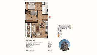 Historical Designed Apartments in Istanbul Zeytinburnu, Property Plans-9